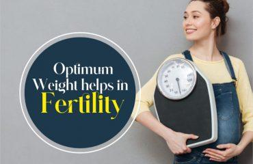 Optimum Weight Helps in Fertility